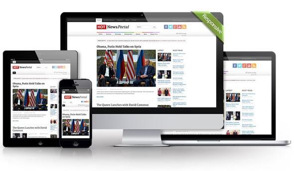 قالب News Portal برای جوملا 2.5 و 3.2 راستچین شده