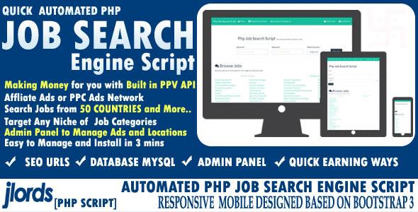 اسکریپت جستجو کار Automated Job Search Engine Script
