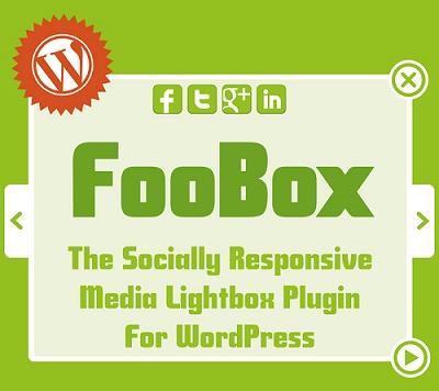 افزونه لایت باکس پیشرفته وردپرس FooBox
