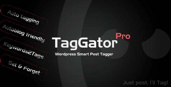 افزونه تگ خودکار وردپرس با TagGator Pro v1.33