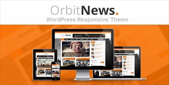 دانلود قالب مجله ای وردپرس Orbit News راستچین شده