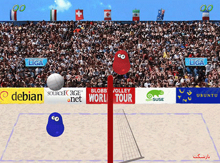 اسکریپت بازی آنلاین ساده والیبال فارسی