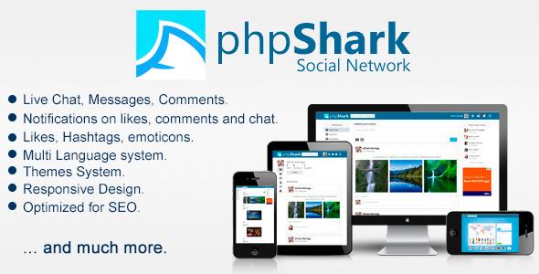 دانلود اسکریپت شبکه اجتماعی phpShark