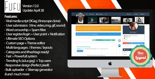 ایجاد سایت پخش رسانه با اسکریپت Fufu v12.0