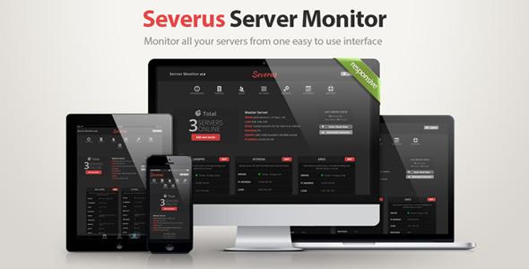 اسکریپت مانیتورینگ سرور Severus Server Monitore v1.3