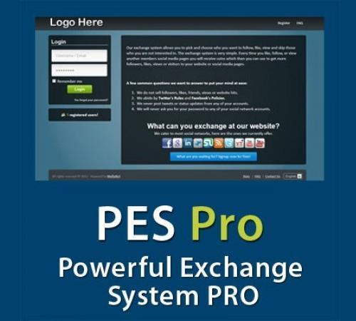 دانلود ورژن جدید اسکریپت تبادل اجتماعی PES PRO V2.0.2