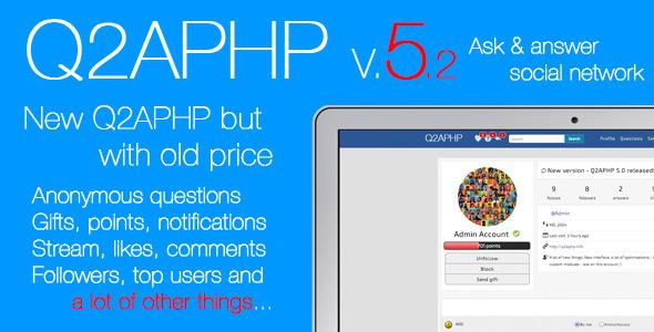 اسکریپت ایجاد شبکه اجتماعی پرسش و پاسخ Q2APHP v5.2