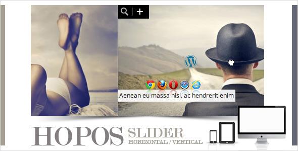 افزونه ایجاد اسلادر تصاویر وردپرس Hopos Post Slider v1.2