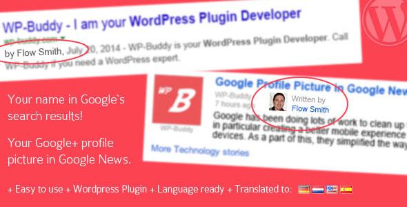 Google Plus Author Information