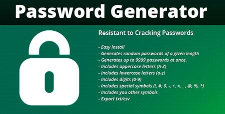 FPG Password Generator