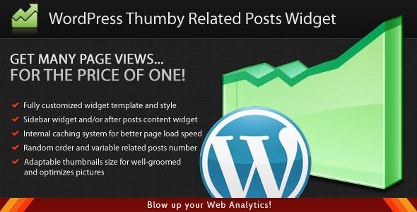 افزونه پست های مرتبط با مطلب WordPress Thumby Related Posts Widget
