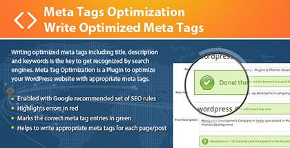 Meta Tags Optimization