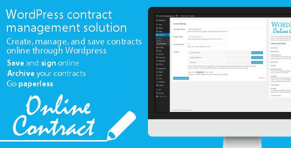 افزونه وردپرس ایجاد قرارداد آنلاین WP Online Contract v2.13
