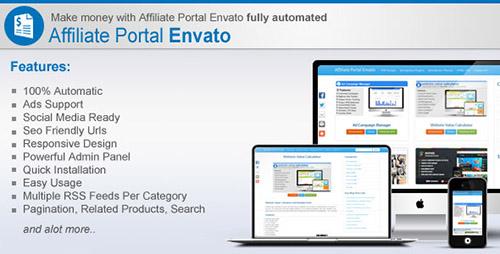 دانلود اسکریپت فروش محصولات مجازی Affiliate Portal