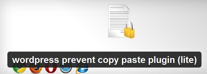 افزونه جلوگیری از کپی مطالب WordPress Prevent Copy Paste Plugin