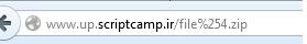 لیست کاراکتر های موجود در ادرس ها یا url ها