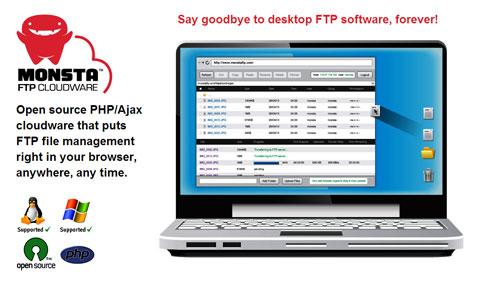 دانلود اسکریپت مدیریت فایل FTP با Monsta FTP ورژن 1.4.7