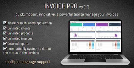 اسکریپت مدیریت و صدور فاکتور Invoice Pro نسخه 1.2