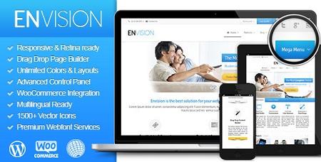 دانلود قالب Envision