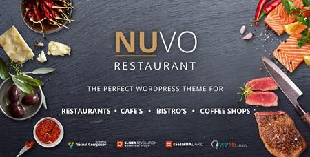 یک سایت کامل برای رستوران و یا کافی شاپ با قالب NUVO