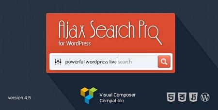 جستجو گر حرفه ای وردپرس Ajax Search Pro