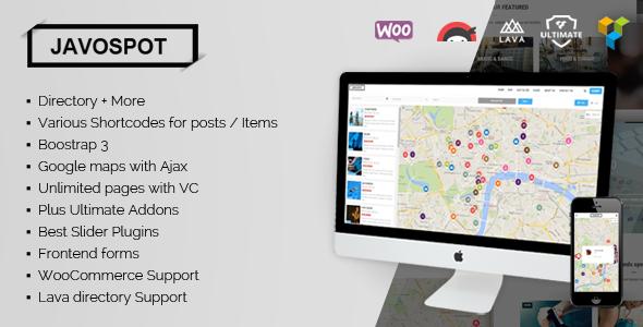 دانلود قالب مجله ای وردپرسی Javo Spot v1.0.6