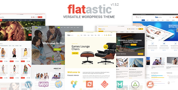 دانلود قالب وردپرس Flatastic v1.5.2 – Themeforest Versatile WordPress Theme