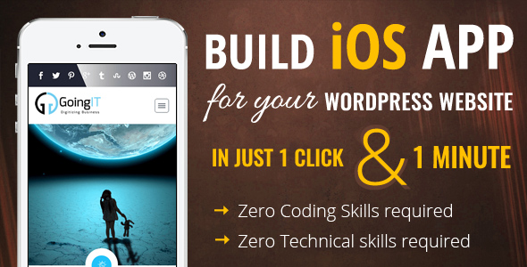 iWappPress Builds iOS App for any wordpress website