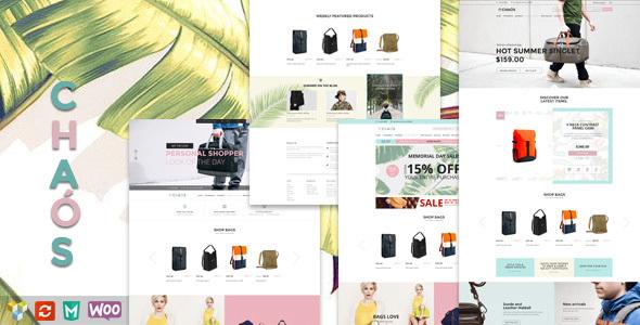 Chaos v1.1.2 - Responsive Bag Shop Theme