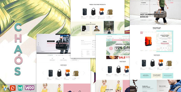 Chaos v1.1.2 – Responsive Bag Shop Theme