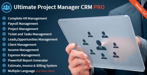 دانلود اسکریپت CodeCanyon – Ultimate Project Manager CRM PRO v1.2