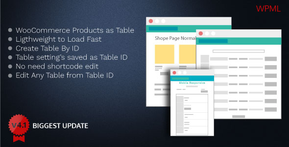 Woo Product Table Pro v4.1 - Making Quick Order Table