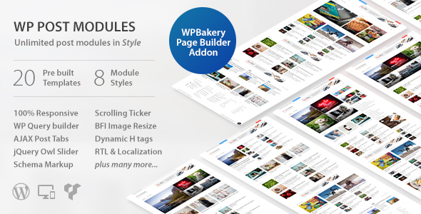 WP Post Modules for NewsPaper and Magazine Layouts v2.3.0