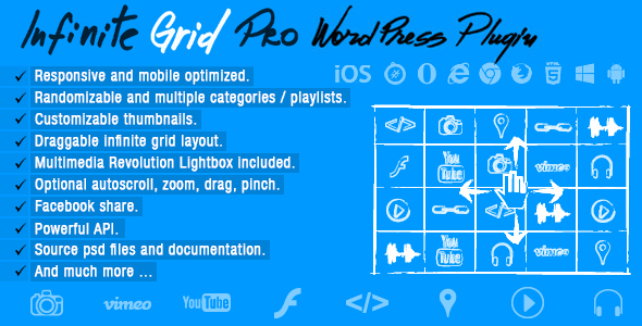 Infinite Grid Pro v1.0 - Wordpress Plugin
