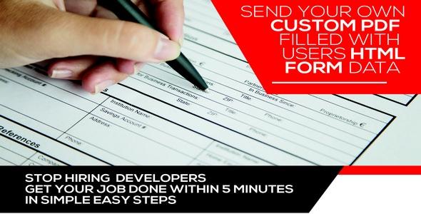 دانلود افزونه Form Generating PDF v3.5.7