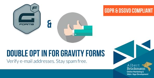 Double Opt in for Gravity Forms v1.8.1
