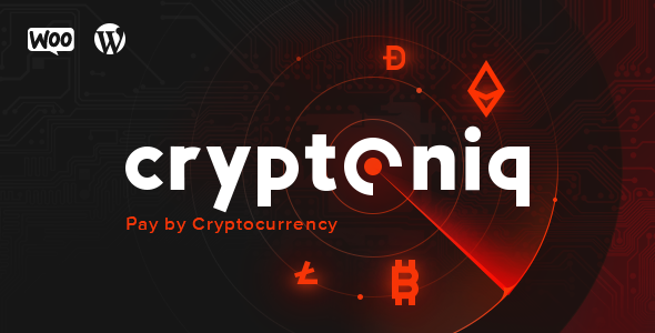 دانلود افزونه Cryptoniq v1.5 – Cryptocurrency Payment Plugin for WordPress
