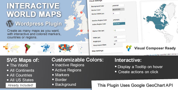 Interactive World Maps v2.3.3.1