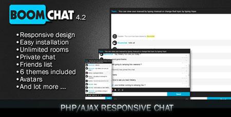 اسکریپت ایجاد چت روم Boomchat نسخه ۴.۲