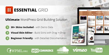 ساخت گرید در وردپرس با افزونه فارسی Essential Grid نسخه ۲.۰.۹