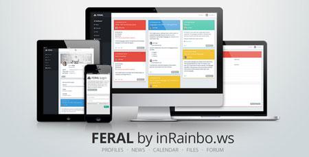 اسکریپت ایجاد شبکه اجتماعی Feral نسخه ۱.۲
