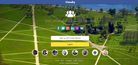 اسکریپت راه اندازی شبکه اجتماعی Friendly Social Network نسخه ۱.۵.۱