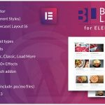 دانلود افزونه Blog Layouts for Elementor v1.0 – WordPress Plugin