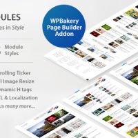 دانلود افزونه WP Post Modules for NewsPaper and Magazine Layouts v2.3.0