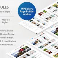 دانلود افزونه WP Post Modules for NewsPaper and Magazine Layouts v2.3.0