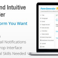 دانلود اسکریپت فرم ساز پیشرفته Contact Form Generator v1.5