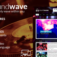 دانلود قالب وردپرس SoundWave v2.2 – The Music Vibe WordPress Theme