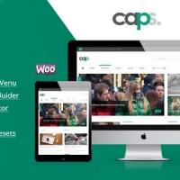 قالب مجله ای ریسپانسیو و راست چین وردپرس Caps v1.1.3