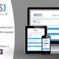 دانلود قالب انجمن ساز phpBB3 BBOOTS