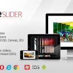 اسلایدر بی نظیر سه بعدی و دو بعدی Cute Slider v2.1